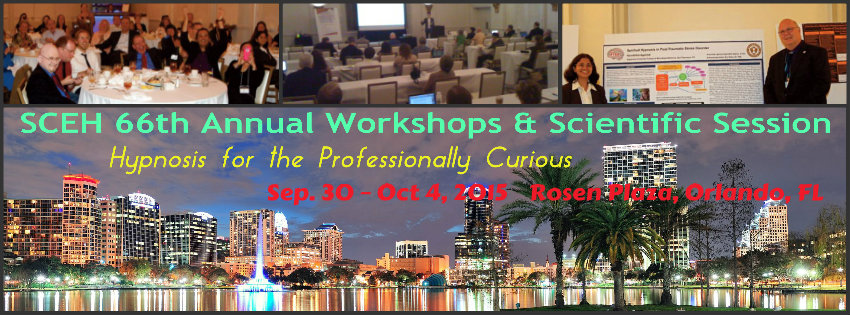 SCEH 2015 Conference - Hypnosis for the Professionally Curious