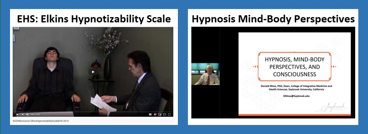 SCEH hypnosis clinical resources
