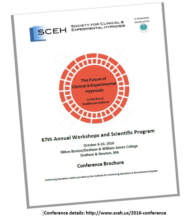 2016 SCEH conference brochure